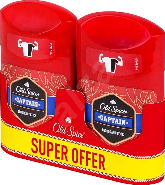 OLD SPICE Captain deo pack 2× 50 ml - Pánský deodorant