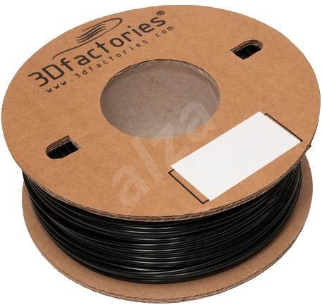 3D Factories ABS PrintPlus Black 1.75mm 1kg - Filament