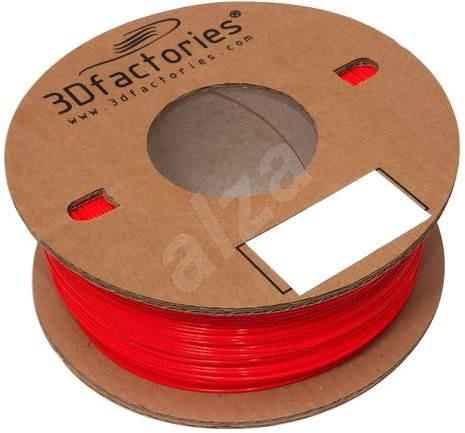 3D Factories ABS PrintPlus Červená 1.75mm 5m - Filament