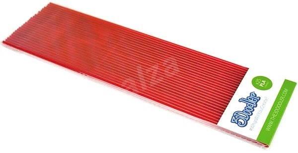 3Doodler PLA Plastic Filament Strands Cherry - Filament