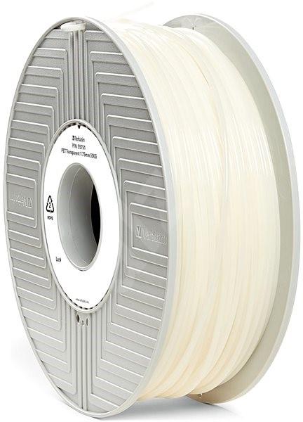 Verbatim PET 1.75mm 0.5kg transparentní - Filament