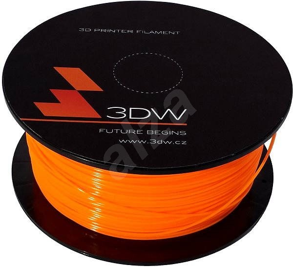 3DW PLA 1.75mm 1kg oranžová - Filament
