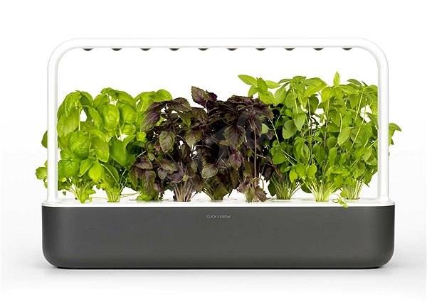 Click and Grow Smart Garden 9 šedý - Chytrý květináč