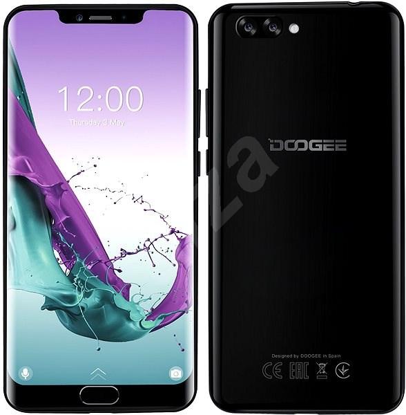Doogee Y7 Plus černá - Mobilní telefon