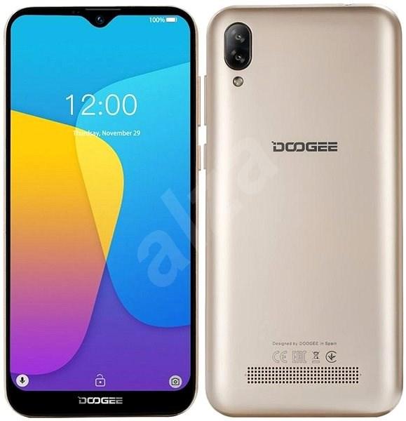 Doogee X90 zlatá - Mobilní telefon