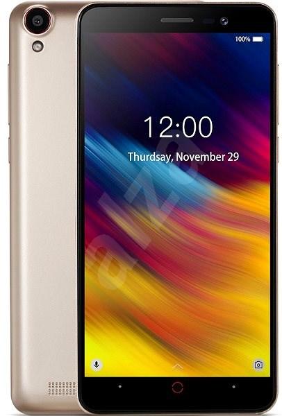 Doogee X100 DualSIM zlatá - Mobilní telefon