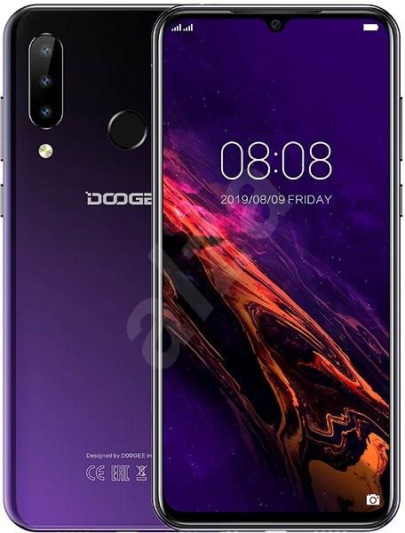 Doogee Y9 Plus DualSIM fialová - Mobilní telefon