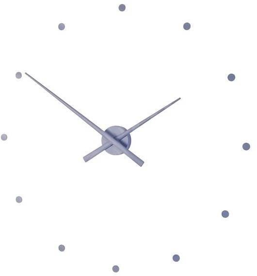 NOMON OJ N511 ocelově modré - Nástěnné hodiny