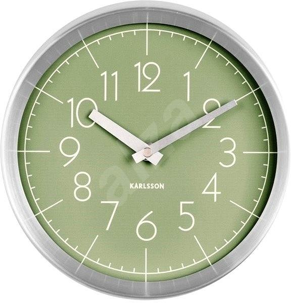 KARLSSON 5637GR - Nástěnné hodiny