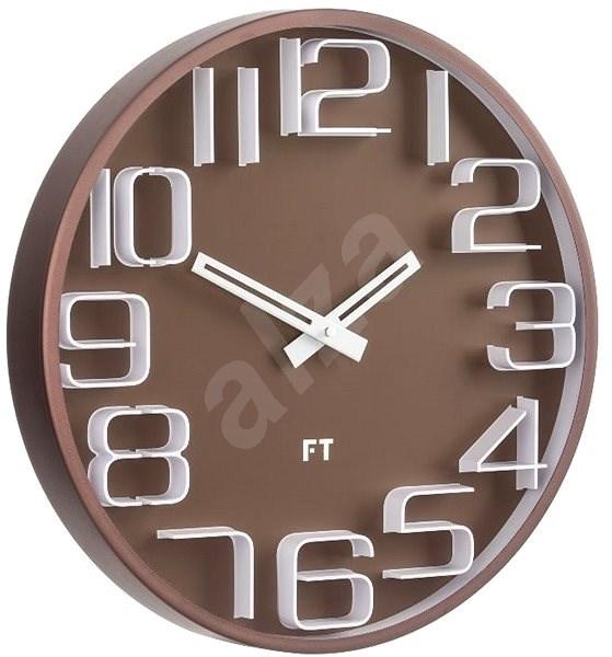 FUTURE TIME FT8010BR - Nástěnné hodiny
