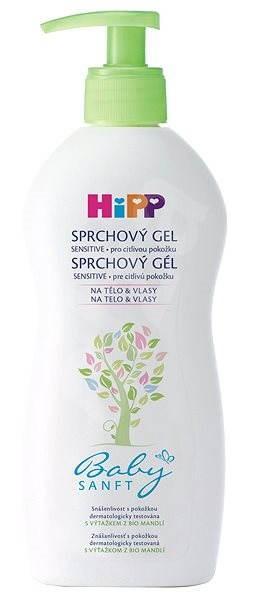 HiPP Babysanft Sprchový gel 400 ml - Dětský sprchový gel