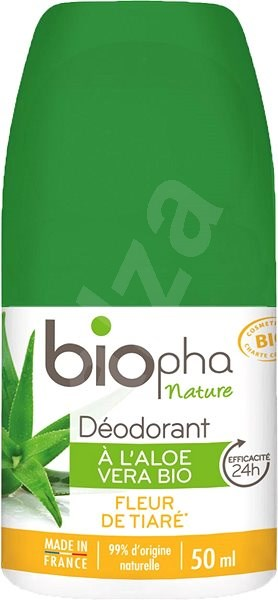 BioPha Deodorant Fleur de Tiaré 50 ml - Dámský deodorant
