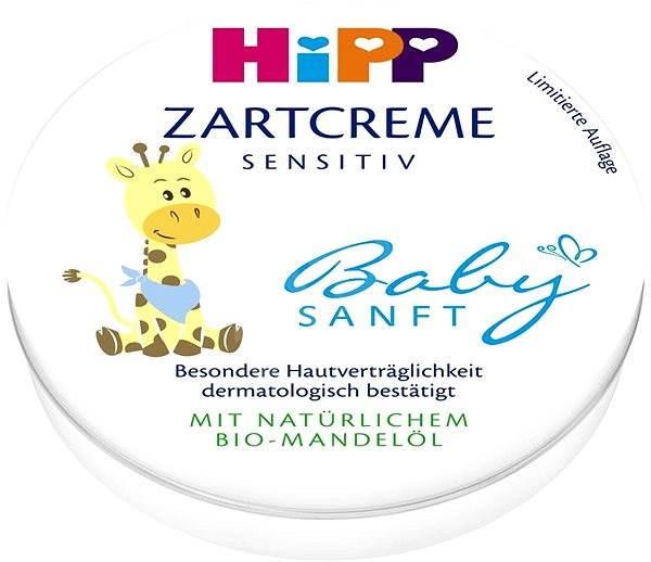 HiPP Babysanft Jemný krém 75 ml - Dětský tělový krém