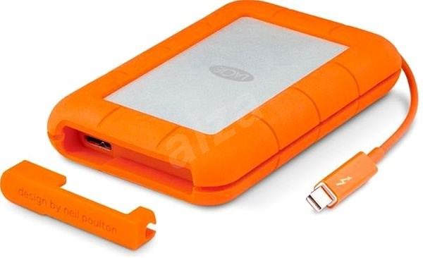 "LaCie 2.5"" Rugged 500GB Thunderbolt SSD USB-C + 3 roky SRS Rescue - Externí disk"