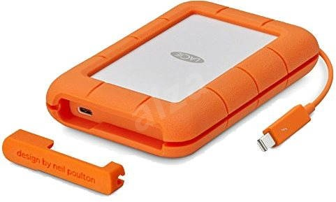LaCie Rugged 5TB Thunderbolt USB-C + 3 roky SRS Rescue - Externí disk