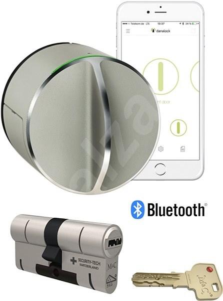 Danalock V3 set chytrý zámek včetně cylindrické vložky M&C - Bluetooth - Chytrý zámek