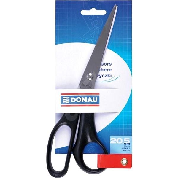 DONAU 20.5cm černé - Kancelářské nůžky