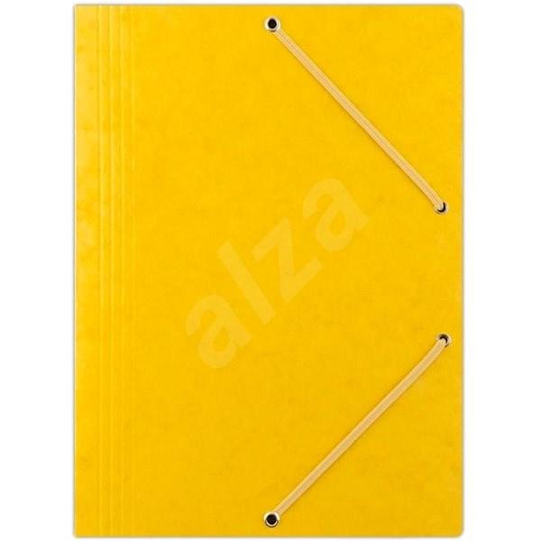 DONAU Premium žluté - Desky na dokumenty