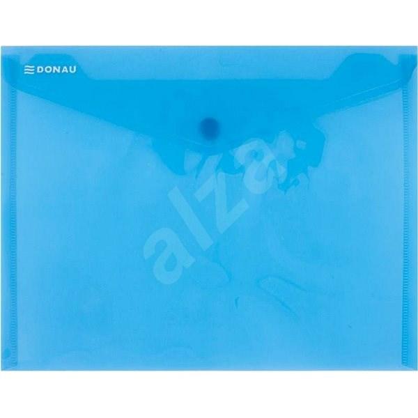 DONAU A5 s drukem, transparentní modré - Spisové desky