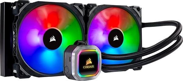 Corsair Hydro Series H115i RGB PLATINNUM Liquid CPU Cooler - Vodní chlazení
