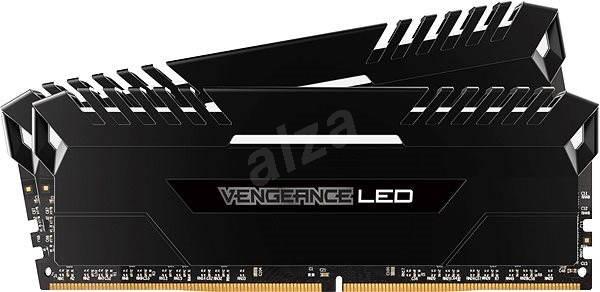 Corsair 16GB KIT DDR4 3200MHz CL16 Vengeance LED - white LED - Operační paměť