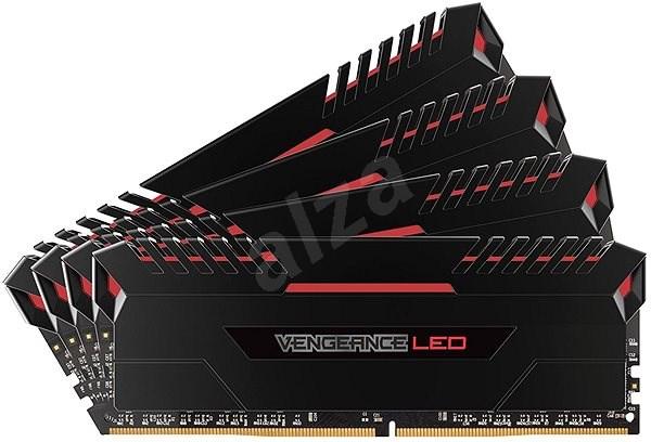 Corsair 32GB KIT DDR4 2666MHz CL16 Vengeance LED - red LED - Operační paměť
