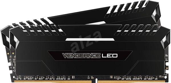 Corsair 32GB KIT DDR4 3000MHz CL16 Vengeance RGB černá - Operační paměť