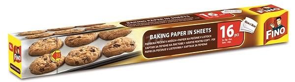 FINO Papír na pečení - archy 16 ks - Pečicí papír