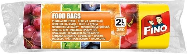 FINO Sáčky na potraviny na roli 2L 250 ks - Mikrotenové sáčky
