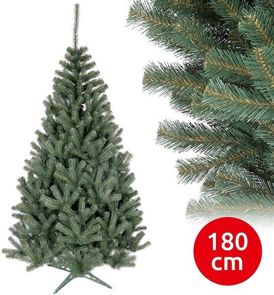 ANMA Vánoční stromek TRADY 180 cm smrk - Vánoční stromek