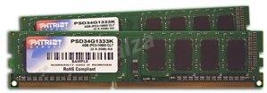 Patriot 4GB KIT DDR3 1333MHz CL9 Signature Line - Operační paměť