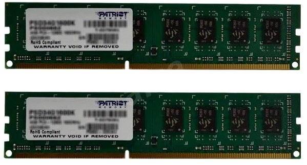 Patriot 8GB KIT DDR3 1333MHz CL9 Signature Line - Operační paměť