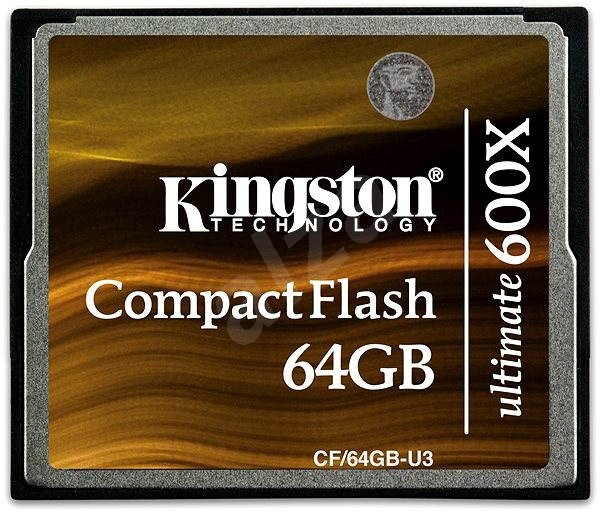 Kingston Compact Flash 64GB 600x Ultimate - Paměťová karta
