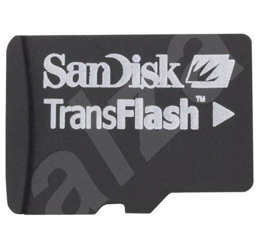 SanDisk Micro Secure Digital (Micro SD) 2GB, včetně SD adaptéru - Paměťová karta