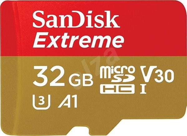 SanDisk MicroSDHC 32GB Extreme Mobile Gaming - Paměťová karta
