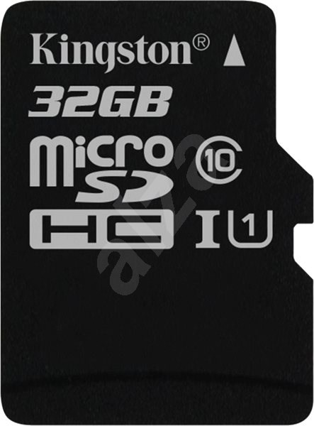 Kingston MicroSDHC 32GB UHS-I U1 - Paměťová karta