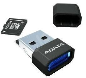 ADATA MicroSDHC 32GB Class 10 + USB čtečka V3 černá - Paměťová karta