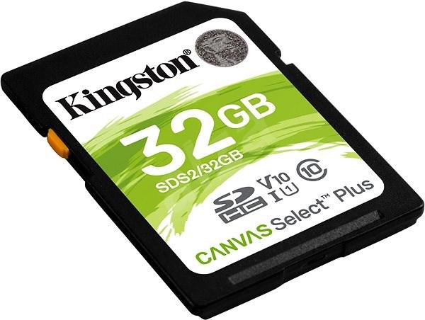 Kingston Canvas Select Plus SDHC 32GB Class 10 UHS-I - Paměťová karta