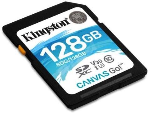 Kingston Canvas Go! SDXC 128GB UHS-I U3 - Paměťová karta