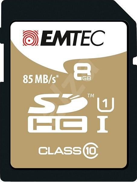EMTEC SDHC 8GB Gold Plus Class 10 - Paměťová karta
