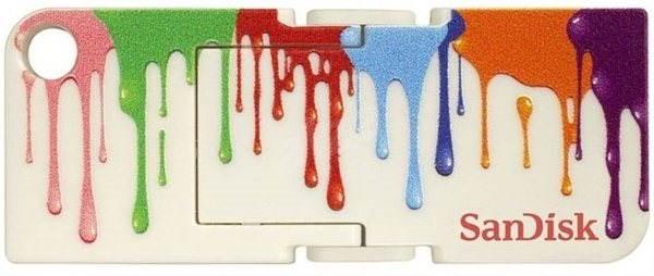 SanDisk Cruzer Pop 4GB Paint - Flash disk