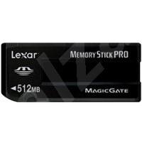 LEXAR Memory Stick PRO 512MB Platinum 40x - Paměťová karta