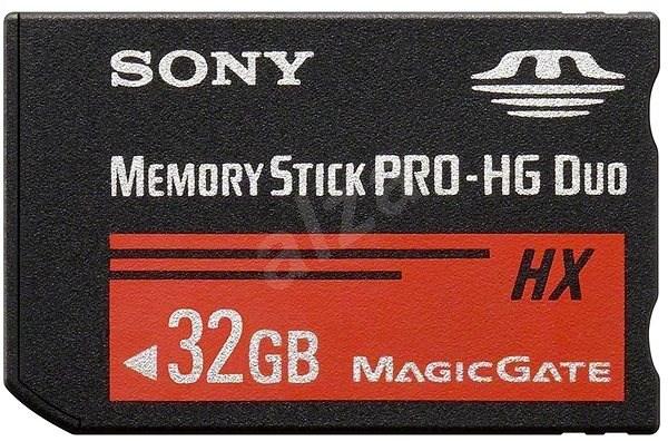 Sony Memory Stick PRO-HG Duo HX 32GB - Paměťová karta