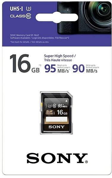 Sony SDHC 16GB Class 10 Pro - Paměťová karta