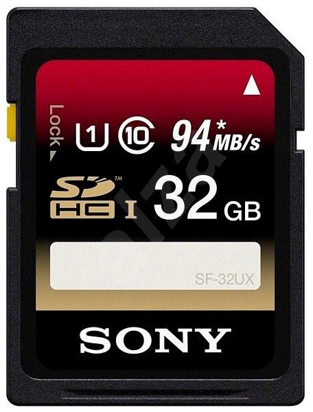 Sony SDHC 32GB Class 10 Pro, UHS-I - Paměťová karta