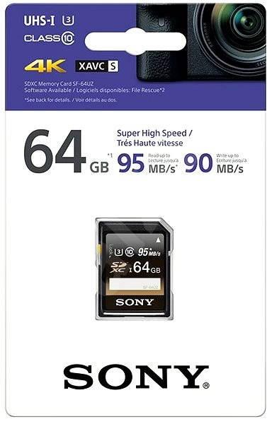 Sony SDXC 64GB Class 10 Pro - Paměťová karta