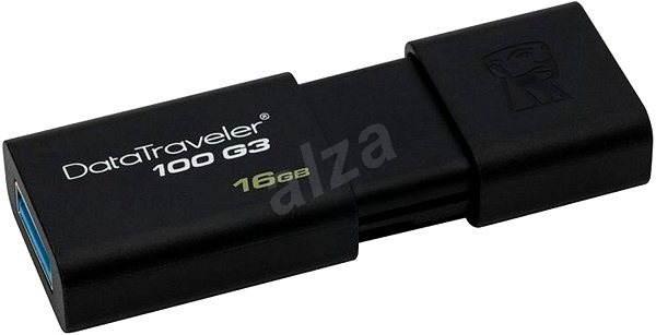 Kingston DataTraveler 100 G3 16GB černý - Flash disk