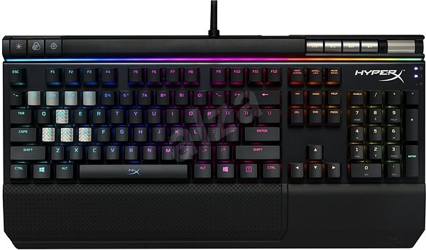HyperX Alloy Elite RGB Red Mechanical Gaming Keyboard US - Herní klávesnice