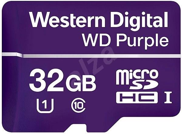 WD Purple MicroSDHC 32GB UHS-I U1 - Paměťová karta