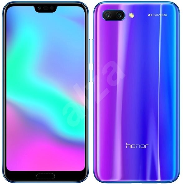 Honor 10 64GB Modrý - Mobilní telefon